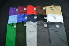 6 NEW SHAKA WEAR SUPER MAX HEAVY WEIGHT T-SHIRTS COLOR TEE PLAIN S-5XLT 6PC