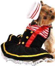 Pet Dog Cat Sailor Sweetie Halloween Christmas Fancy Dress Costume Outfit XS-L