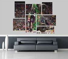 Grave Digger Monster Truck Self Adhesive Wall Picture Poster Not Canvas