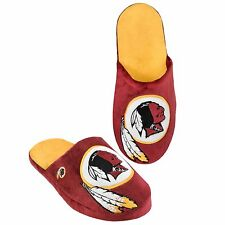 Washington Redskins Slippers Team Colors Big Logo NEW Two Toned House shoes BLG