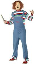 Adult Horror Movie Child's Play 2 Chucky Living Doll Scary Halloween Costume