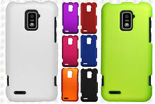 For Boost Mobile Warp 4G ZTE N9510 Rubberized HARD Protector Case Phone Cover