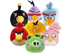 "OFFICIAL 8"" ANGRY BIRDS SPACE VERSION TALKING SOFT PLUSH TOYS NEW"