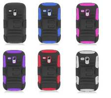 For Samsung Galaxy S3 Mini Cell Phone Case Robotic Holtser Belt Clip Cover