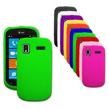 Silicone Soft Rubber Skin Cover Case for Samsung Focus / i917