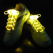 Colorful Neon LED Shoe laces Shoes Strap Glow Stick Light Shoelaces Multicolor