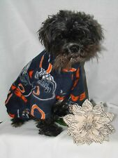 SMALL NFL Dog Snowsuits, Pajames  Warm Fleece,see more sizes&styles in my store