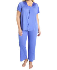 Vanity Fair Coloratura Full Figure Short Sleeve Pajamas Style 90807