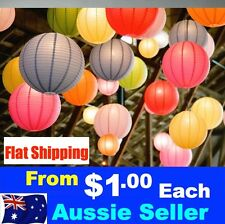 Choose Your Own Combination colour Paper Lanterns Wedding FLAT POSTAGE 1 to 999