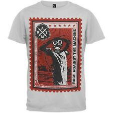 Rage Against The Machine - Postage Stamp Soft Men's T-Shirt White