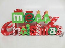 MERRY CHRISTMAS WORD DECORATION  2757