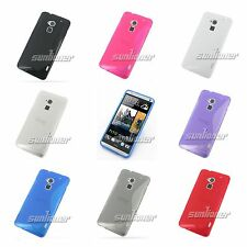 Silicone Gel Rubber TPU Skin S-Line Case Cover for HTC One MAX , T6