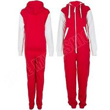 Kids Football Kit Arsnal Man Utd Liverpool Zip Onesie Fleece All In One Jumpsuit