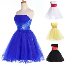 Women Homecoming Birthday Evening Party Dress Ball Prom Bridesmaid Gowns Dresses