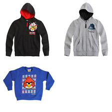 Angry Birds Sweatshirt | Angry Birds Jumper | Fr 3 - 10 Years | NEW W/TAGS