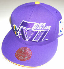 NBA New Orleans Jazz Mitchell and Ness Cap Hat M&N NEW!