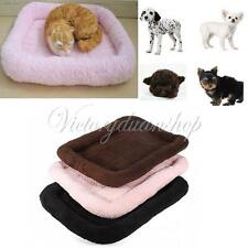 Dog Puppy Cat Warm Soft Plush Bed Pad Mat Crate Kennel Cozy Cage House Blanket