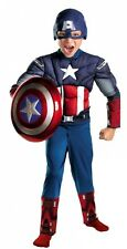 Child Marvel The Avengers Captain America Muscle Halloween Costume Dress Up