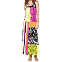 twiggy LONDON Printed Patchwork Style Maxi Dress $79.90 NWOT