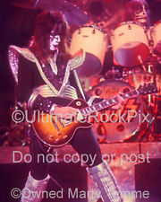 Ace Frehley Photo Kiss 16x20 Inch Concert Photo 1970s by Marty Temme 1C