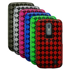 Diamond TPU Rubber Gel Case Cover for LG Nitro HD / P930
