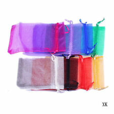 "4X6"" 10x15cm Organza Wedding Jewelry Candy Packing Favour Xmas Gift Bags Pouches"