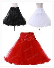 2014 Wedding Retro Underskirt Swing Vintage Petticoat Fancy Net Skirt Rockabilly