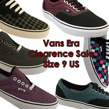 SIZE 9 US MENS VANS CLEARANCE SHOES/CASUAL/SKATE/SURF ON EBAY AUSTRALIA!