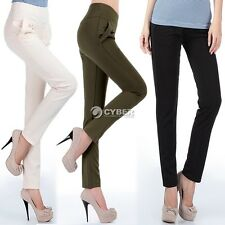 Fashion Women's Small Feet Harem Pants Long Trousers OL Casual Slim Pants DZ88