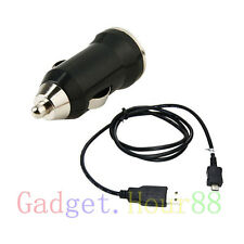 Mini Car Charger + USB DATA Cable for Samsung Galaxy Cell Phones 2013 NEW