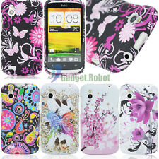 For HTC Desire X V Proto T328e New Patterned Soft Skin GEL TPU Case Cover GR
