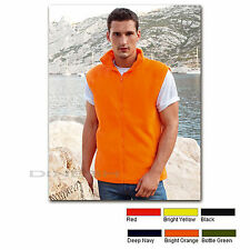 (F860) FRUIT OF THE LOOM -Fleeceweste Bodywarmer Outdoor Fleece
