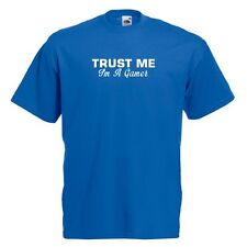 Trust Me I'm A Gamer Standard Royal Blue T-Shirt gaming addict online ALL SIZES