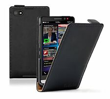 Leather Vertical Flip Case Cover Pouch for Mobile Phone Blackberry Z30