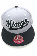 NBA Sacramento Kings Mitchell and Ness Vintage Throwback Fitted Hat Cap NEW