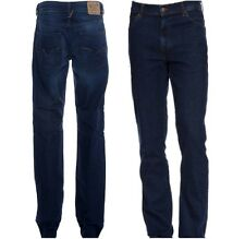 Men Designer Diesel Basic Blue Jeans Industry Dark Dry Denim Division Trousers
