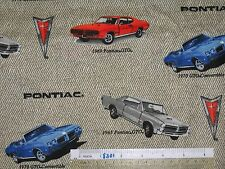 *Choose design* Car Chevrolet Camaro Convertible cotton quilting fabric *size