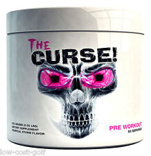 Cobra Labs The CURSE Pre Workout Energy Pump Focus Strength ALL FLAVOURS 250g
