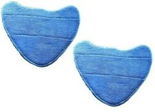 2 x Vax S2S S2ST Compatible Microfibre Replacement Pads Steam Mop Floor Washable