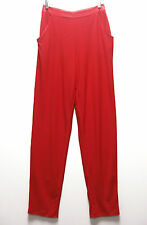 Carolyn Strauss CSC Studio Pull-On Slim Pants with Pockets $39.90 CHILI RED