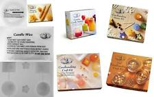 House Of Crafts Scented Candle Making Craft Kit Beeswax Moulds Gel Complete Kits