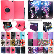 For Various Amazon Kindle Tablets New PU Stylish Leather Flip Case Cover+ Stylus
