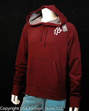 Abercrombie & Fitch Men Hoodies Burgundy NWT