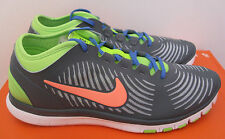 NEW NIB Nike Free Balanza Shoe Sneaker Gray Green 599268-400 Womens Sz 7 -10
