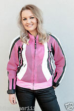 "Ladies Motorcycle ""Tech Mesh"" Air Vented Waterproof Summer Cordura Armour Jacket"