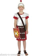 ☆ Boys Roman Soldier Gladiator Curriculum Book Day Fancy Dress Costume Outfit ☆