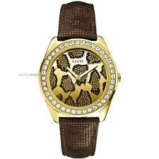 GUESS W0056L1-W0056L2 3D ANIMAL WATCHES CHOOSE YOUR COLOR  GOLD OR SILVER