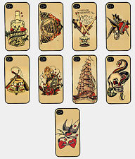 SAILOR JERRY TATTOO VINTAGE RETRO GALAXY S3 S4 IPHONE 4 4S 5 5C 5S PHONE CASE