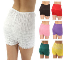 """NEW Malco Modes RUFFLED Lace Square DANCE Costume PETTIPANTS Panties Bloomers 5"""""""