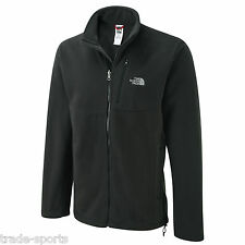 NORTH FACE MENS REVAMP FLEECE SIZE LARGE L BLACK JACKET COAT FULL ZIP